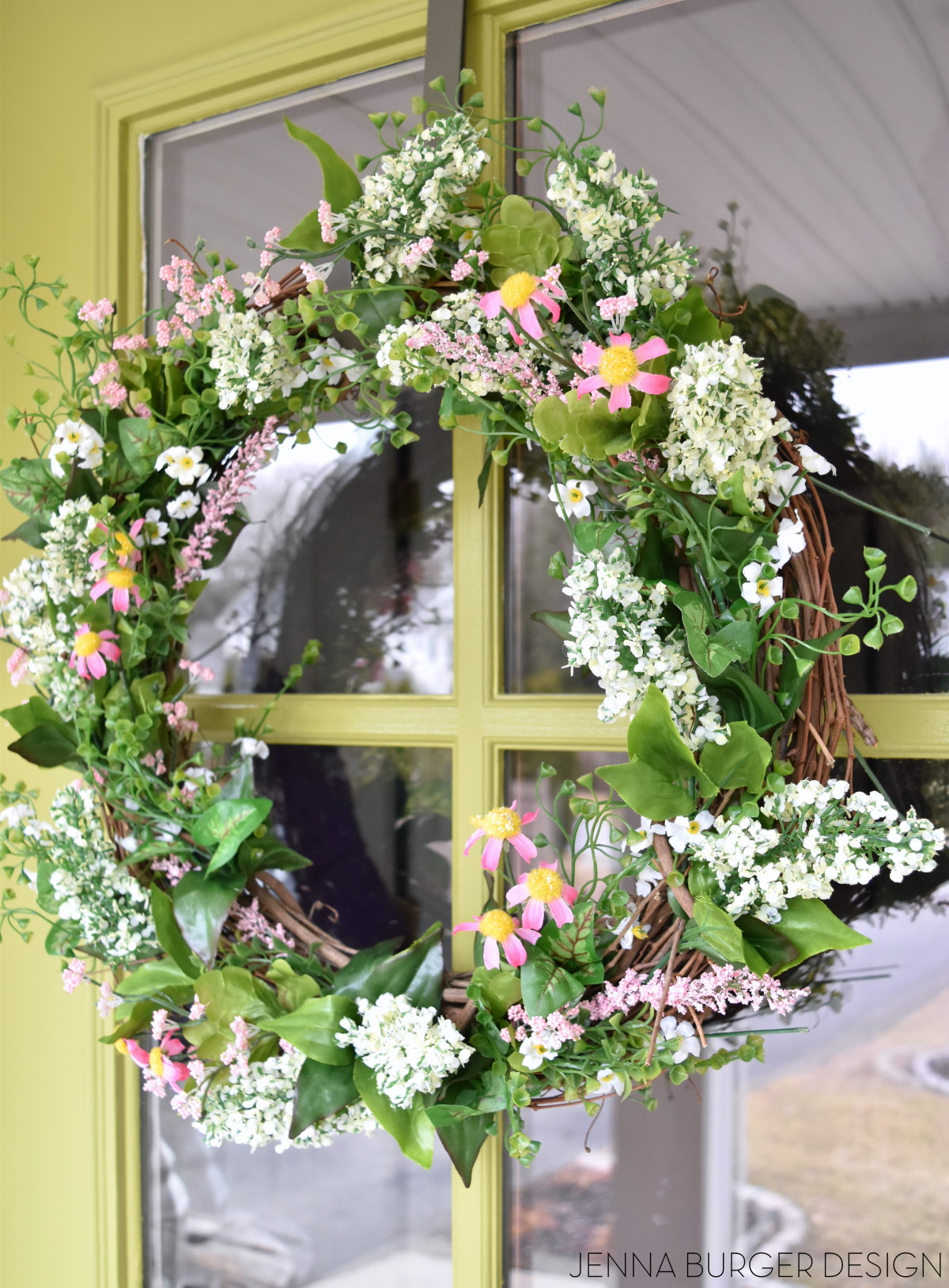 Spring Wreath For Front Door Diy