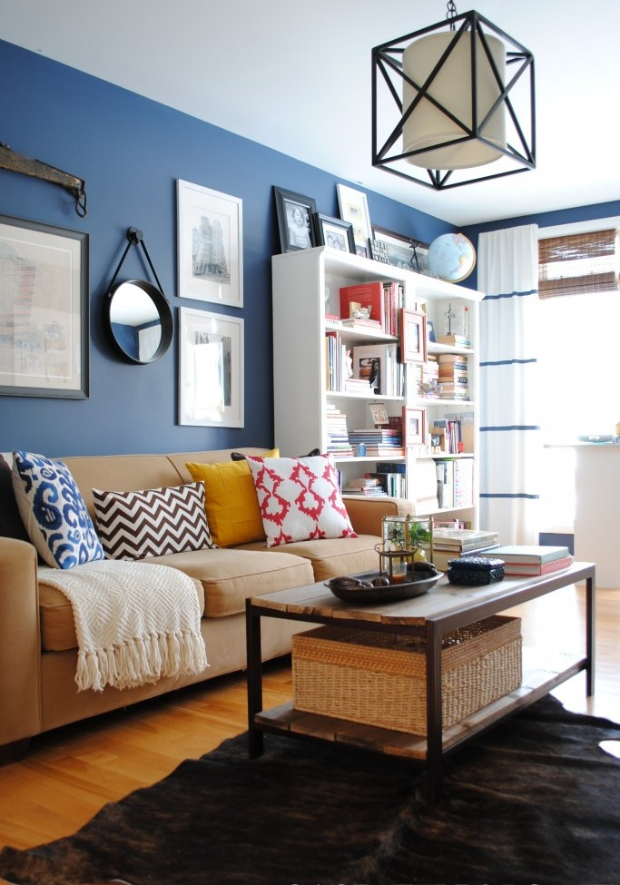 Living Room Revamp with many DIY projects to get the high end look for less