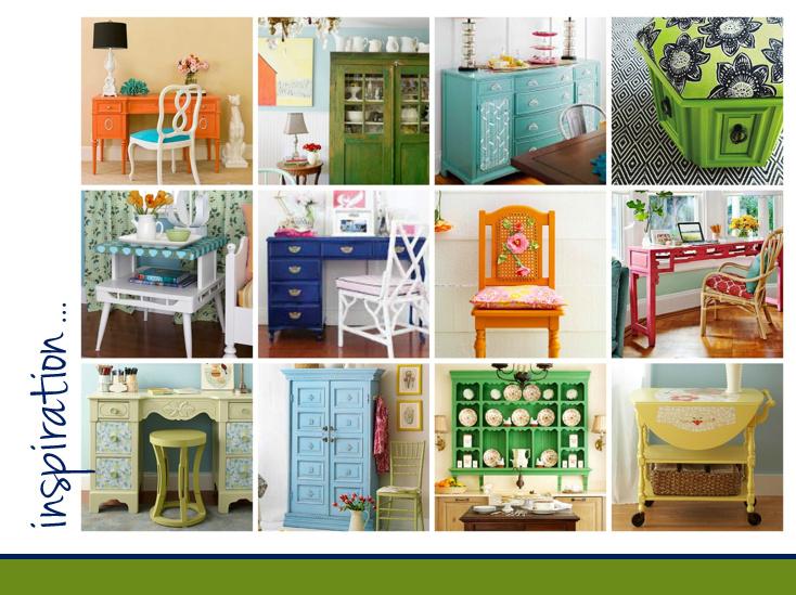 Paint Furniture Inspiration