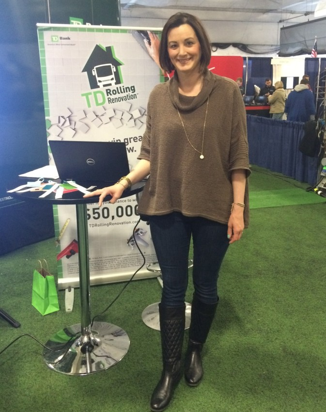 Presenting at the Hudson Valley Home Show in New York