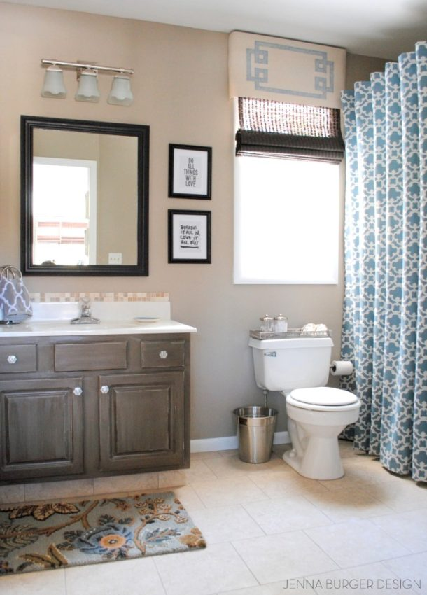 DIY Master Bathroom renovation - JENNA BURGER DESIGN