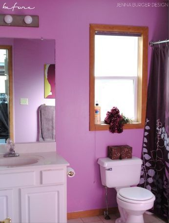 Master Bathroom 'before' renovation - JENNA BURGER DESIGN