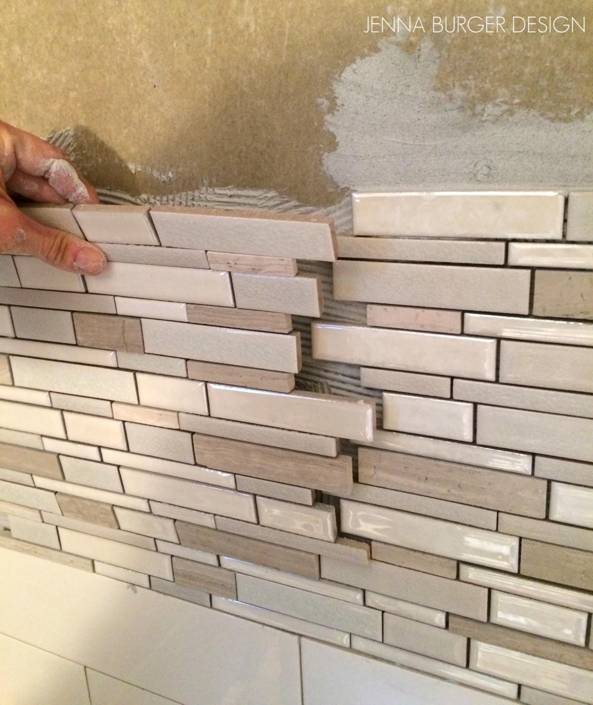 Master Bathroom Renovation: Tile + Grout - Jenna Burger