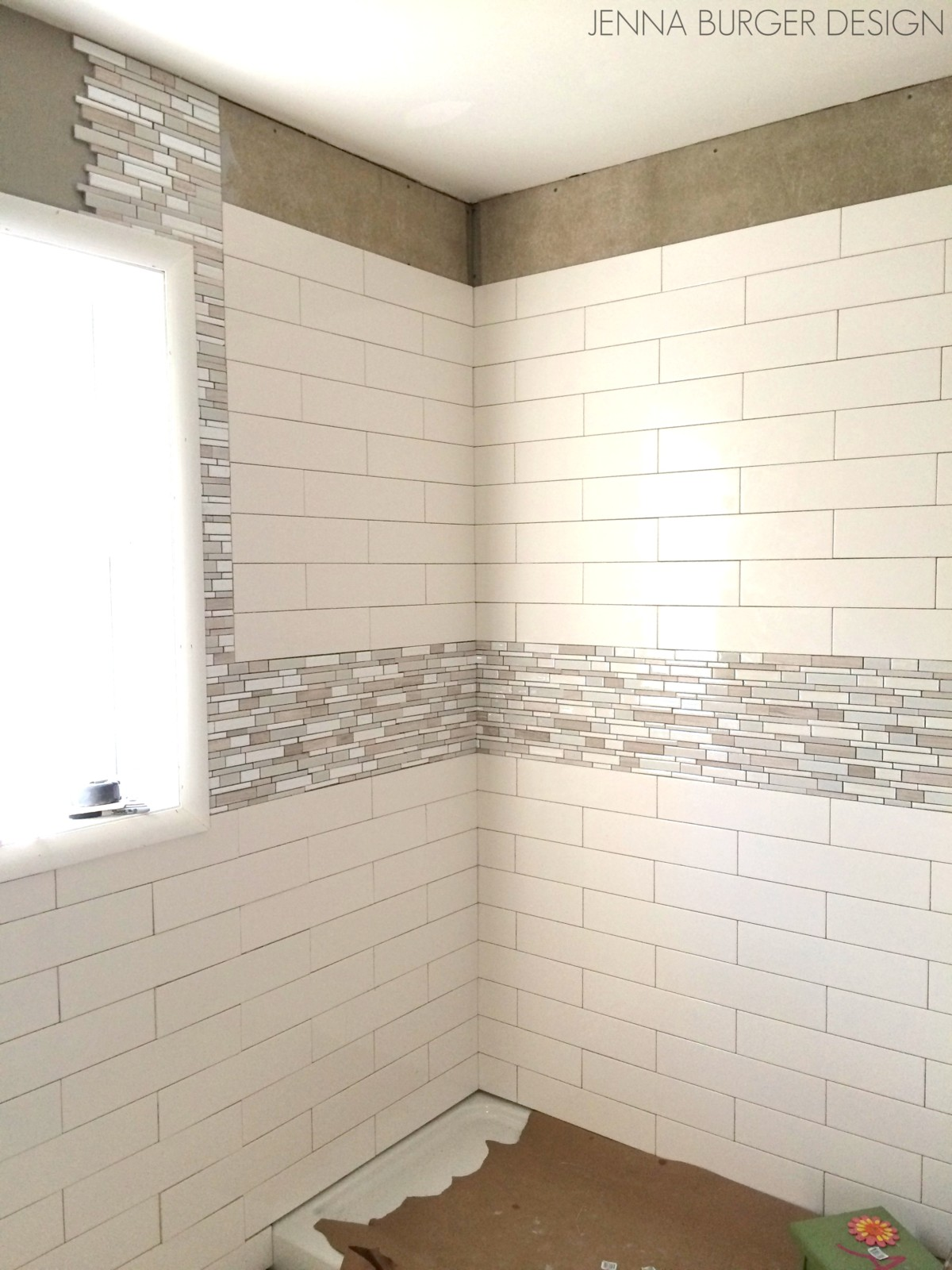 Master Bathroom Renovation: Tile + Grout - Jenna Burger