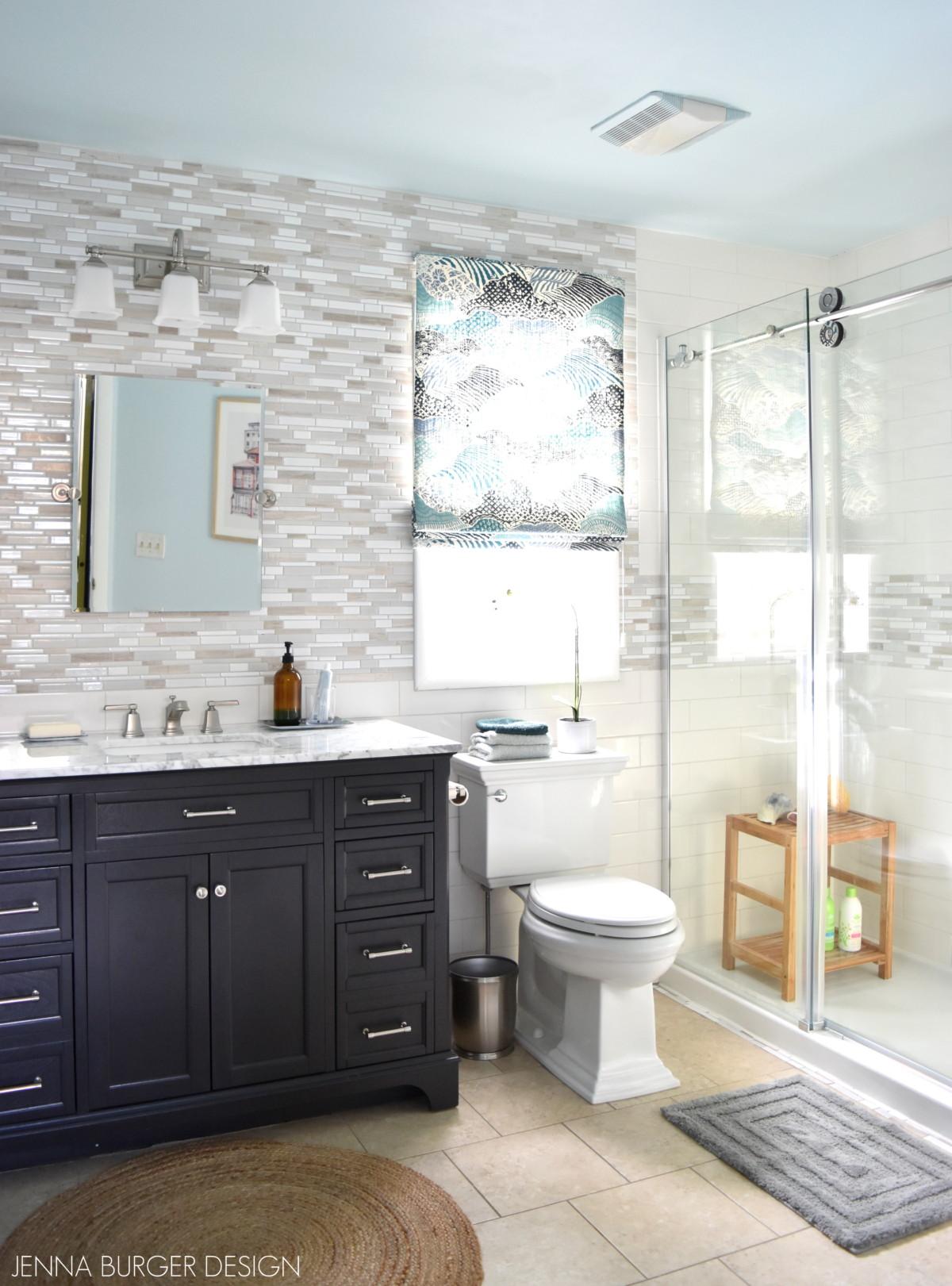 Serene + Sophisticated Master Bathroom Reveal - Jenna ... on Small:e_D8Ihxdoce= Restroom Ideas  id=80731