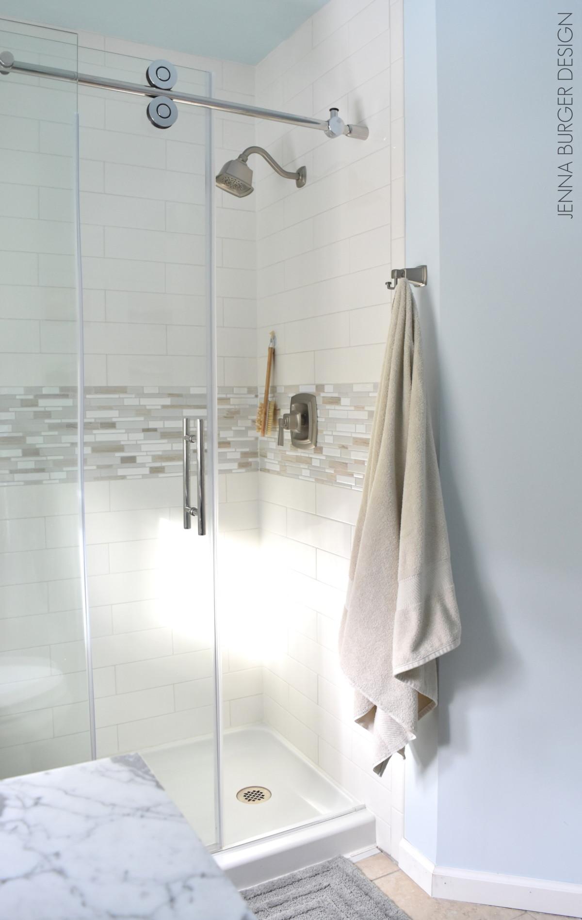 Serene + Sophisticated Master Bathroom Reveal - Jenna Burger