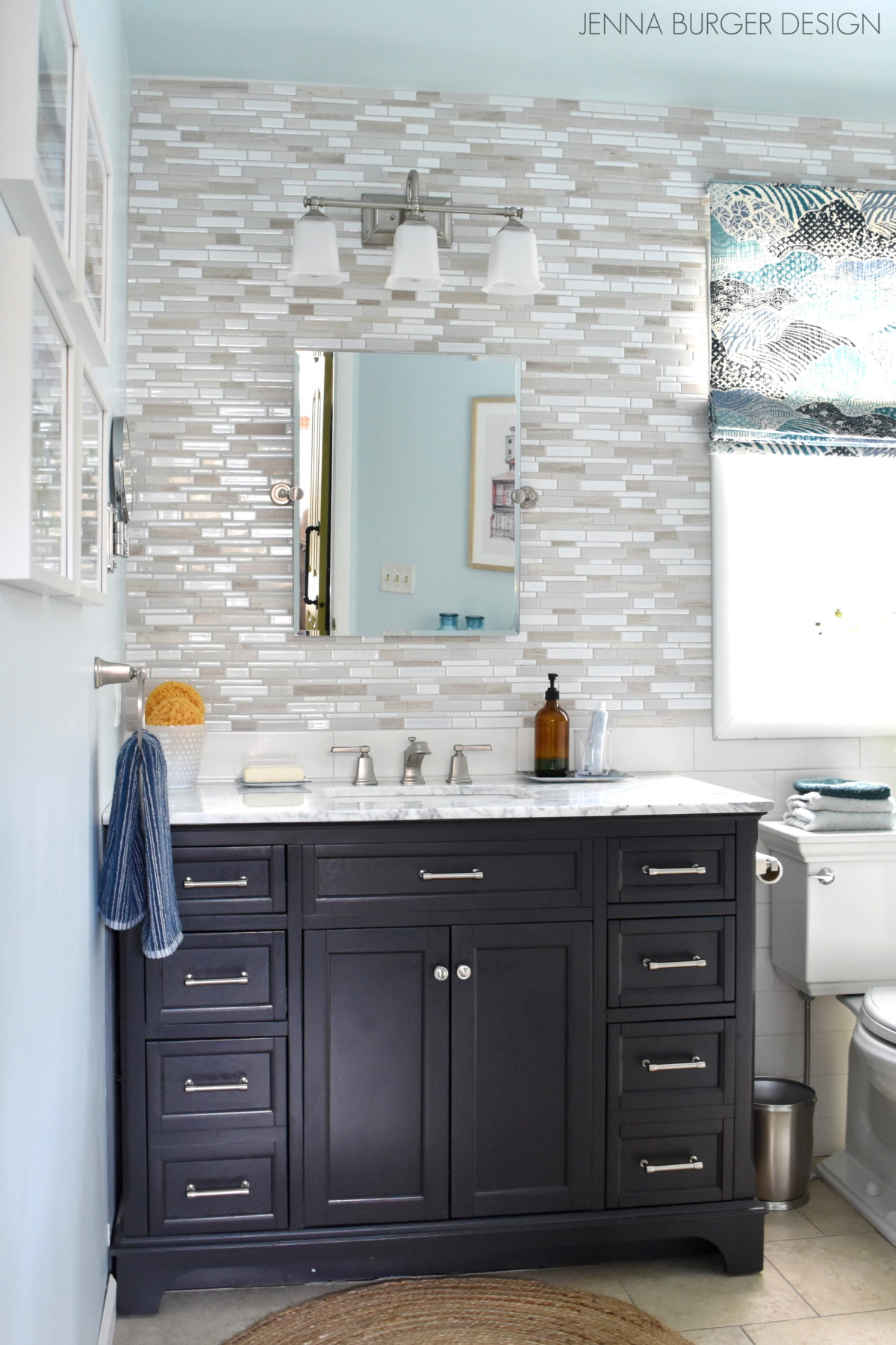 Serene + Sophisticated Master Bathroom Reveal - Jenna Burger