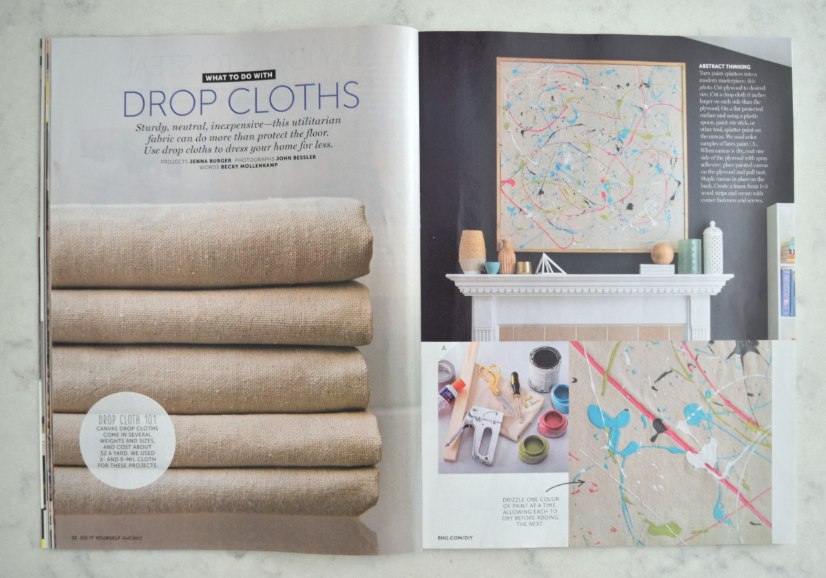 Magazine Feature: BHG Do It Yourself - Jenna Burger