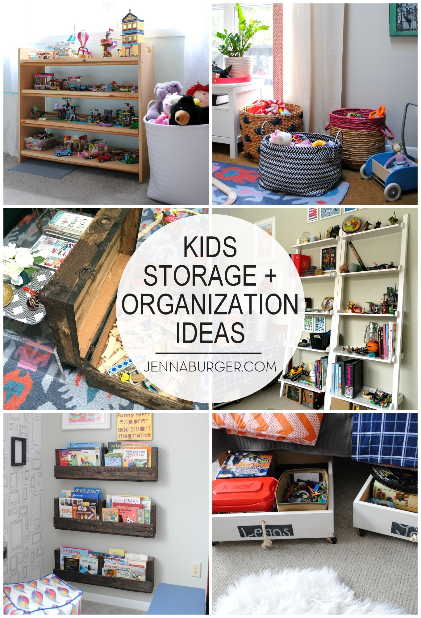 How i organize kids toys jenna burger for Organize small living room