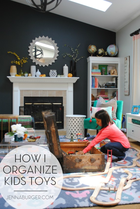 How I Organize My Kids Toys: TIPS + unique EASY & STYLISH for how I organize my kids toys, www.jennaburger.com